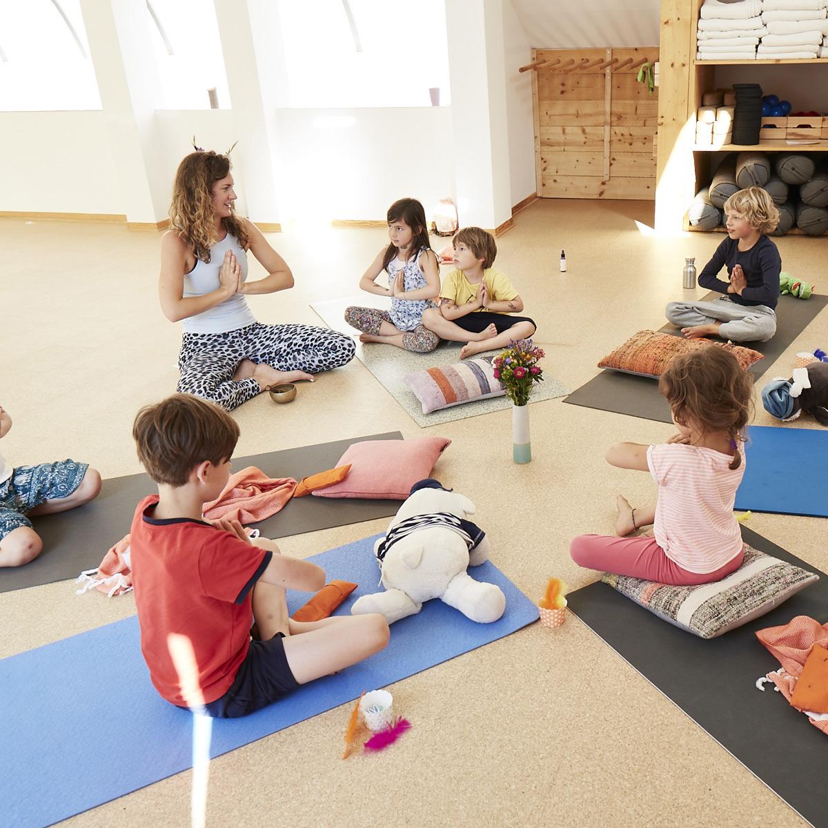 Yogakurse für Kinder